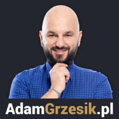 Adam Grzesik - okładka podcastu