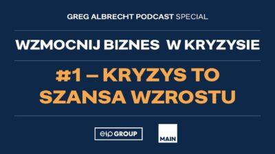 Okładka podcastu - Greg Albrecht